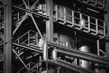 2A Label - Industrie - plan sur une partie de l'usine