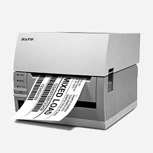 Imprimante sato en noir et blanc étiquette apparente