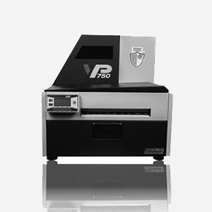 2A Label - imprimante vip en blanc et noir etiquette couleur