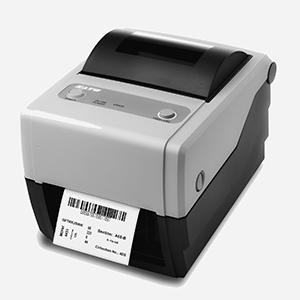 2A Label - imprimante sato noir et blanc avec étiquette