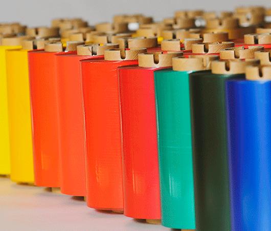 2A Label - ruban transfert thermique - couleur